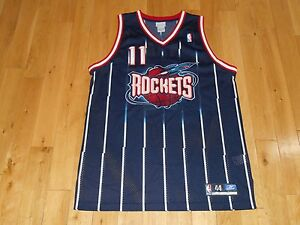 online store 99b3b 187d8 Details about Vintage 2002 Reebok YAO MING HOUSTON ROCKETS Authentic NBA  Team Rookie JERSEY 44