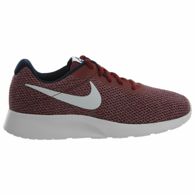 newest fca7c 28349 Nike Tanjun SE Mens 844887-602 Team Red Vast Grey Mesh Running Shoes Size 8  for sale online   eBay
