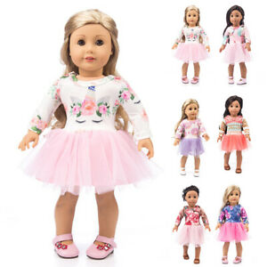 Stylish-Sweet-Doll-Clothes-Princess-Dress-Outfits-for-18-inch-Girl-Dolls-DIY