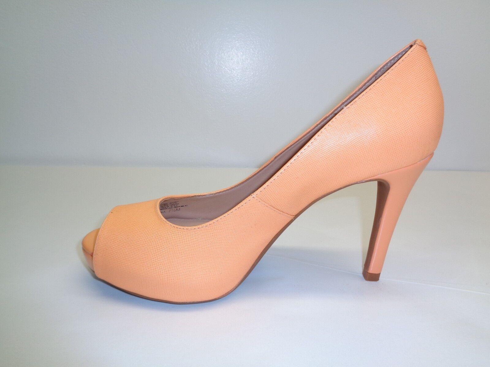 Antonio Melani Größe 8.5 Pumps M ERIKA Orange Leder Pumps 8.5 Heels New Damenschuhe Schuhes bc507f