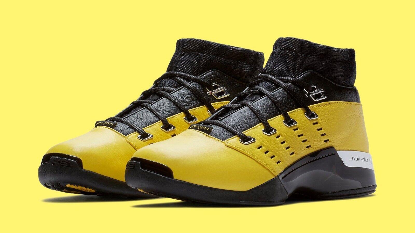 2018 Nike Air Jordan 17 XVII Retro Low Solefly Lightning Size 10.5. AJ7321-003