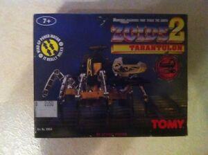 TOMY ZOIDS 2 TARANTULON RARE VINTAGE ROBOT NEW MINT 80s