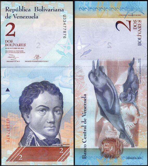 Venezuela 100 Bolivares 2007-2016 P-93 Red Siskin Bird Unc
