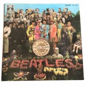 THE-BEATLES-Very-Rare-Spain-Promo-EP-SGT-PEPPERS-Very-Good-Condition