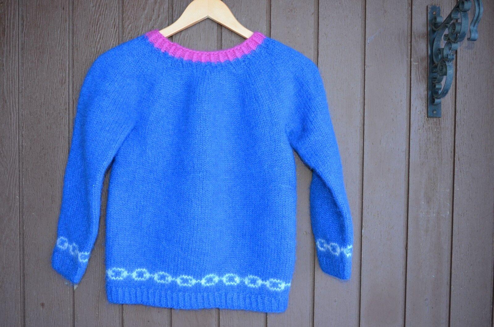 Women Women Women Hand-knit Icelandic sweater,size XS S,Winter wear,casual wear,Lopapeysa fc72d7