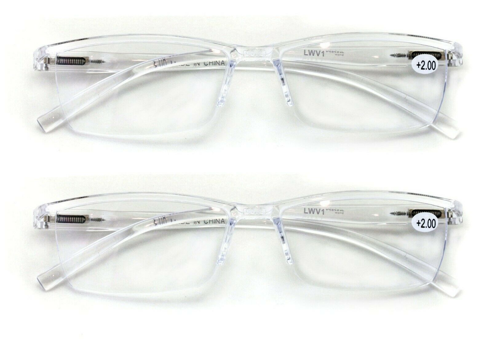 Sportex Readers 4060 Reading Glasses Ultra Lightweight Comfortable Stylis For Sale Online Ebay Find new and preloved sportex items at up to 70% off retail prices. 2 pairs lightweight transparent frame clear rectangular readers reading glasses