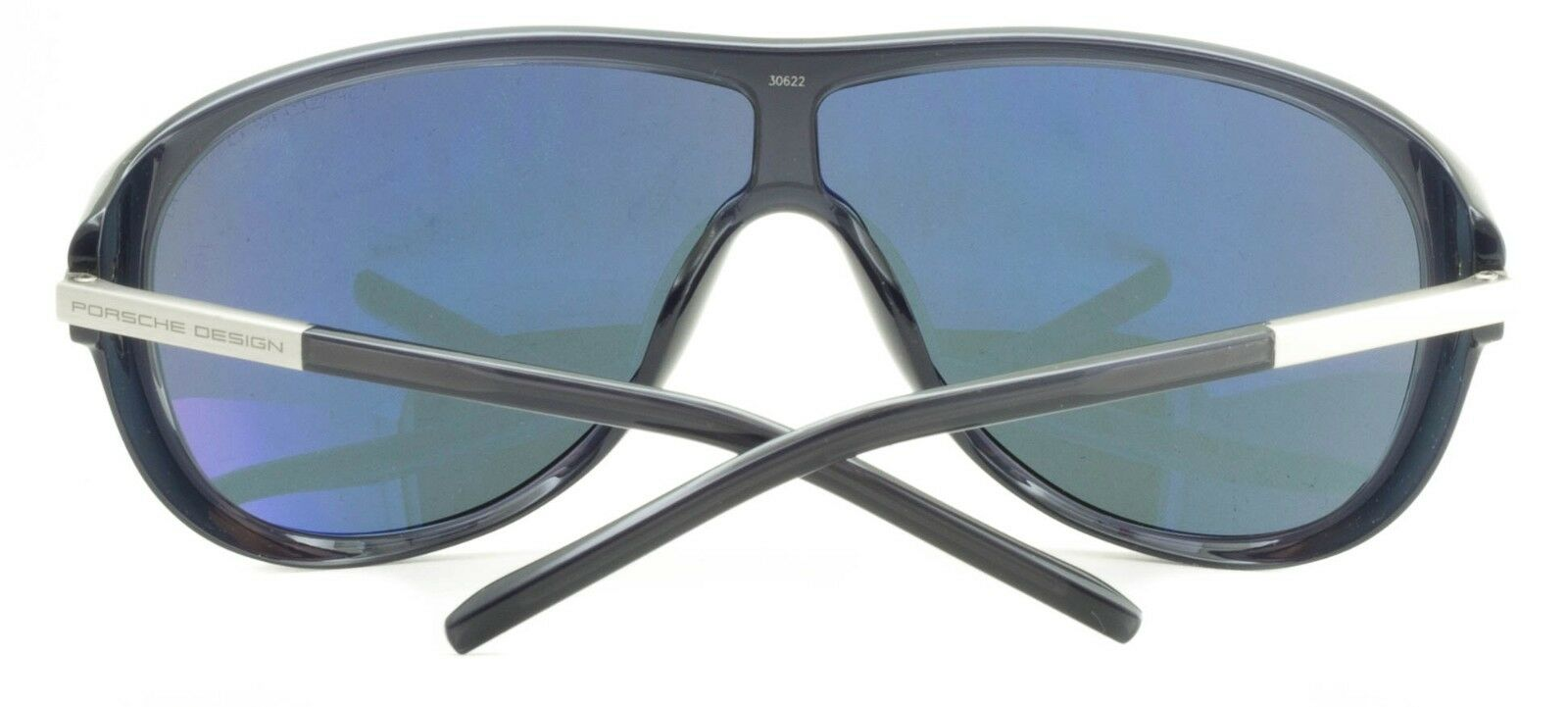 427bc16dacf5 Porsche Design Oversized Shield Sunglasses UV Protection Mirrored Lenses  for sale online