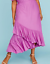 Lane-Bryant-Womens-Off-the-Shoulder-Ruffle-Maxie-Dress-Plus-14-16-18-20-Orchid thumbnail 7