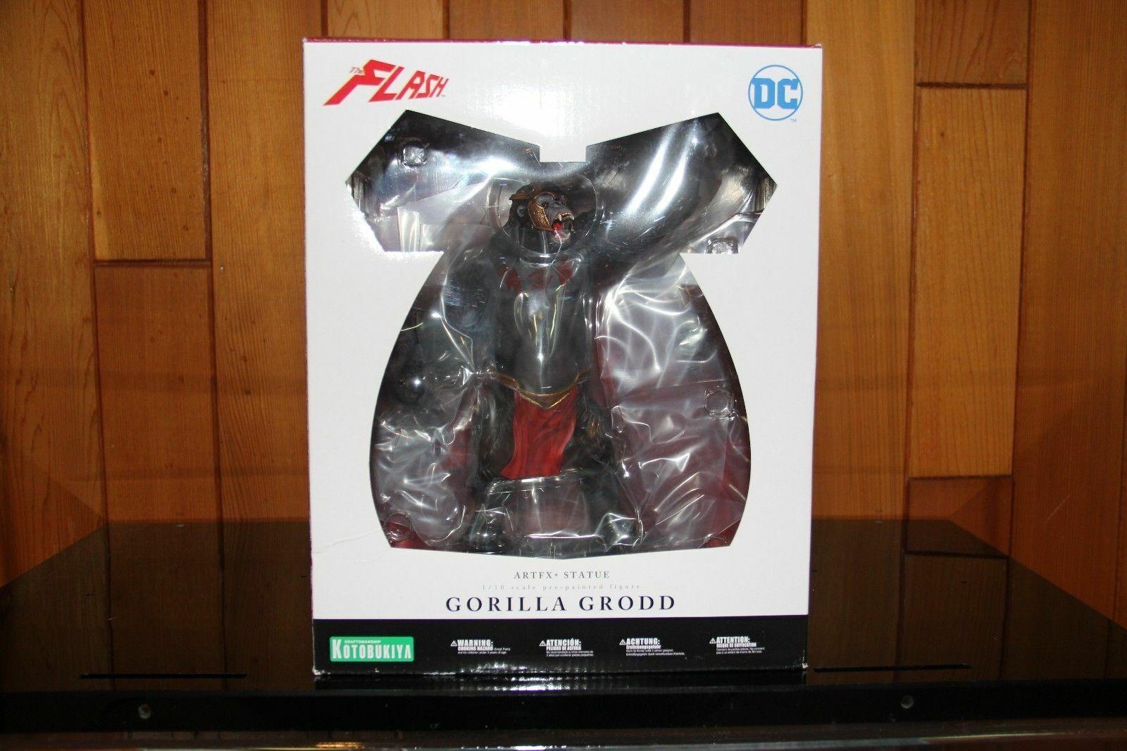 DC Comics Gorilla Grodd ArtFX+ 1 10 Scale Statue Kotobukiya