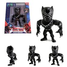 Ironman Black Panther Set Marvel Civil War Jada Toys Diecast Figure M46 M47