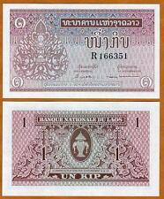 Lao / Laos, 1 Kip, ND (1962), P-8, UNC