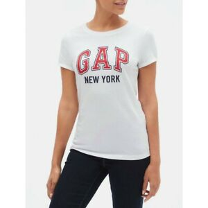 BNEW GAP City Gap Logo T-Shirt In Jersey, Only in XSMALL size