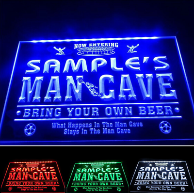 Home bar man cave Lighted Sign Custom Beer LED Sign Personalized pub Sign