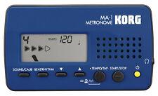 KORG - MA-1 BLUE BLACK ACCORDATORE/METRONOMO DIGITALE BLU E NERO