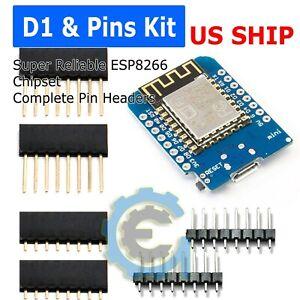 Details about D1 Mini NodeMCU and Arduino WiFi LUA ESP8266 ESP-12 WeMos  Microcontroller