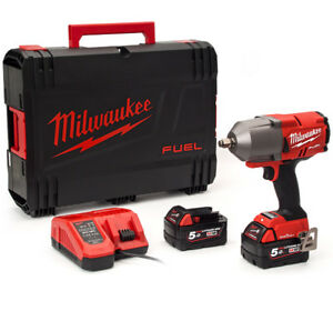 Milwaukee-M-18-ONEFHIWF-12-502X-1-2-1898-Presque-comme-neuf-carburant-ONE-KEY-friction-Anneau-Cle-a