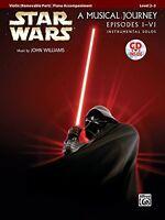 Star Wars Instrumental Solos For Strings (movies I-vi): Violin (book And Cd) (po