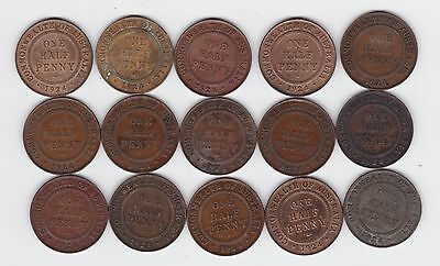 1913 Half Penny Coin Australia price is for ONE only L-881