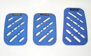 NIKEN-Racing-Pedalset-Pilotpedale-sehr-edle-Sportpedale-Alu-in-blau-matt