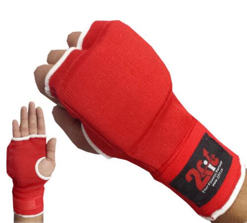 2Fit Boxing Gel Gloves Grappling Hand Wraps MMA Punch Bag Martial Art UFC UniSex
