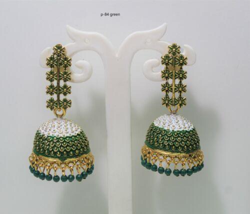 BOLLYWOOD latest earrings new latest party wear Dangle Pakistani earrings