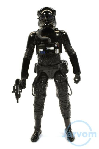 """Star Wars Authentic Black Series 6/"""" Inch 11 First Order Tie Pilot Loose Complete"""