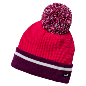 PUMA POM POM BEANIE HAT WINTER AND SKING - BRAND NEW FREE POSTAGE  6981e8fbc46
