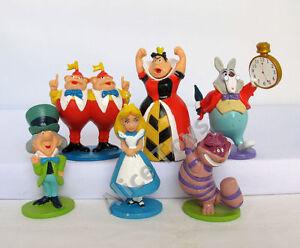MINI Alice in Wonderland Playset 6pcs Figure Cake Topper ...
