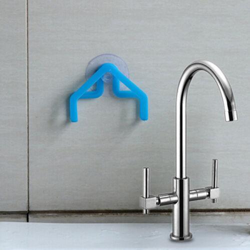 Brush Holder Sponge Suction Cup Sink Draining Towel Rack Washing Holder MA
