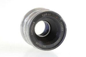 Leidolf-Wetzlar-Lordonar-50mm-50-mm-2-8-Lordomat-SE