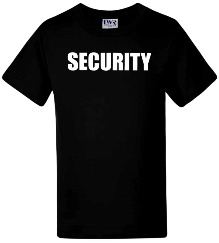 Funny Kids T-shirts Boys T-shirts Girlstees Novelty Childrens T-shirts Security
