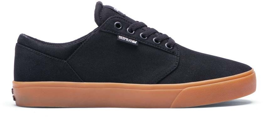 SUPRA YOREK LOW Black Gum MENS 08228-055 NEW