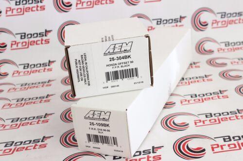 High Volume Fuel Rail for Honda Civic Del Sol D16Y8 AEM Adj Pressure Regulator
