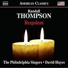 Randall Thompson: Requiem (CD, Apr-2016, Naxos (Distributor))