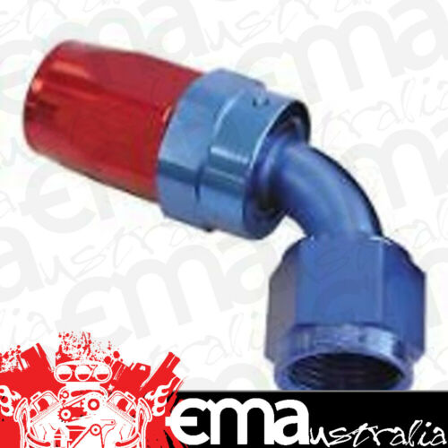 6AN Taper Series 60 Degree Hose End Blue Aeroflow AF118-06