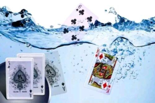 2x Pack Waterproof Playing Cards Beerproof Water Summer Swimming Pool Beach Play
