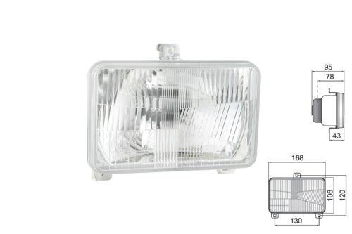 Scheinwerfer 168x106x95 H4 Fernlicht Abblendlicht Traktor Schlepper Deutz Fahr