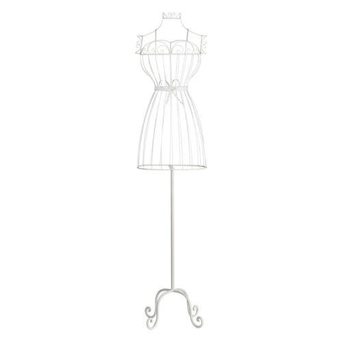 White /& Black Female Mannequin Model Metal Torso Dress Maker Display