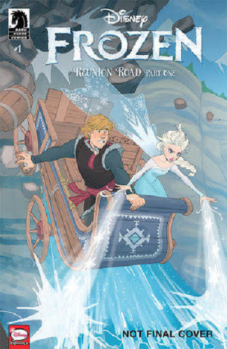 Frozen #1 Reunion Road Disney Dicataldo Variant Dark Horse Comic 1st Print NM
