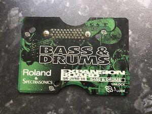 Roland-JV80-10-Bass-amp-Drum-Expansion-Card-VGC-JV1080-2080