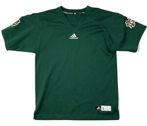 Details about Notre Dame Irish Adidas Youth Jersey Green Size youth Large