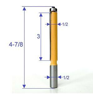 1-pc-1-2-034-SH-3-034-Extra-Long-Blade-Flush-Trim-Router-Bit-S