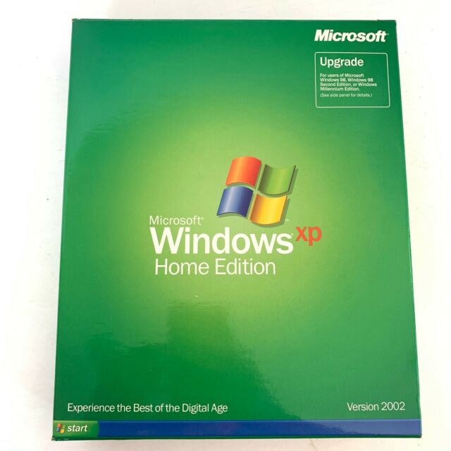 Microsoft Windows XP Home Edition Upgrade Version 2002 CD ...