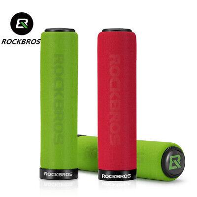 RED RockBros Sponge Foam Bike Handlebar Grips Cycling FREE SHIPPING!!