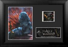 Film Cell Genuine 35mm Framed Alice In Wonderland Absolem Catapillar USFC5338