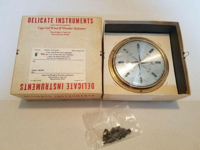 Cape Cod Wind /& Weather Solid Brass Case Wind Direction Instrument