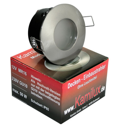 1-10er Sets Low Volt Wet Room LED Recessed Lights Downlights Aqua ip65 3 Watts