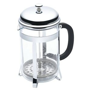 Image Is Loading Kitchencraft Lexpress 12 Cup 1 5l Clic Chrome