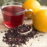 Hibiscus Orange Herbal Tea Organic - By Ounce Or Tea Bags Hot Or Cold Ice Tea