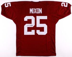 Details about Joe Mixon Signed Oklahoma Sooners Jersey (JSA) Cincinnati Bengals Running Back